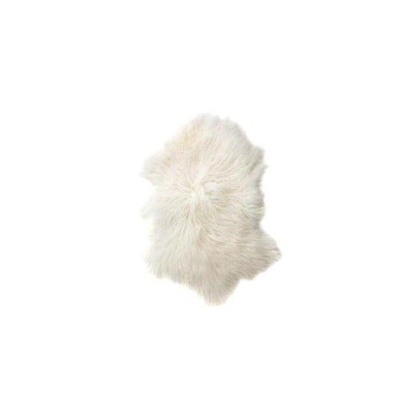 Lammeskinn fra Tibet (hvit)