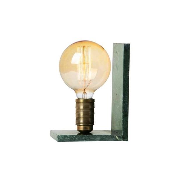 Lampe, bokstøtte