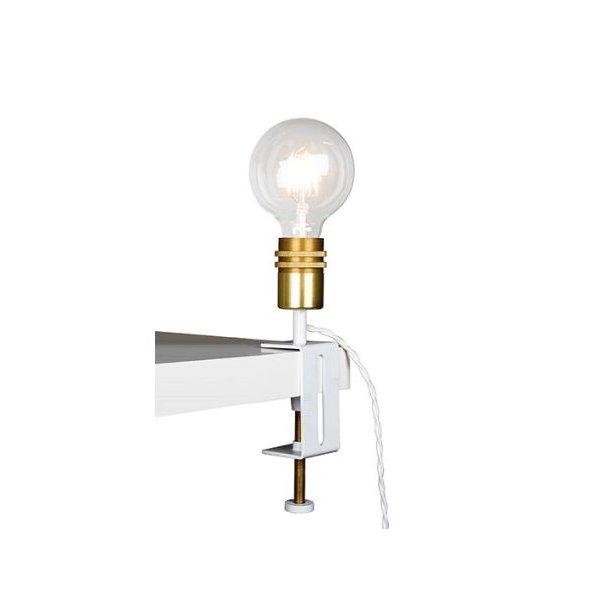 Lampe med bordfeste