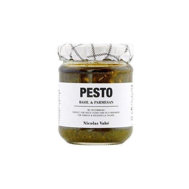 Pesto, basilikum & parmesan