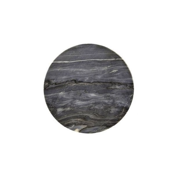 Bordskåner i grå marmor