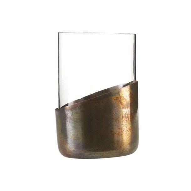 Telysglass, antikk kobber