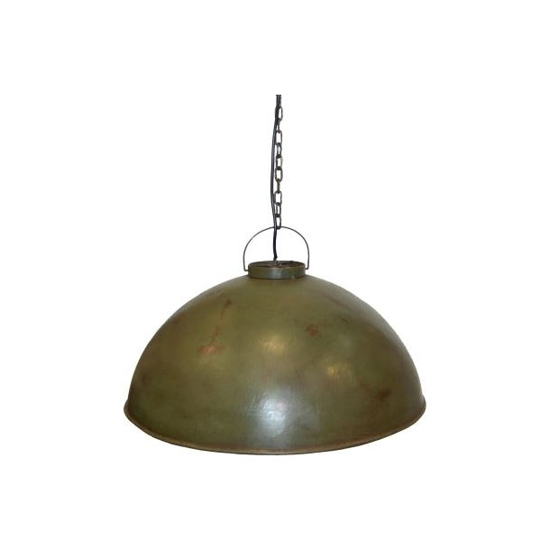 Svær taklampe, flaskegrønn