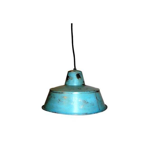 Blå taklampe